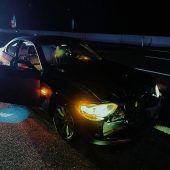 Vier Verletzte bei Unfall auf Autobahn