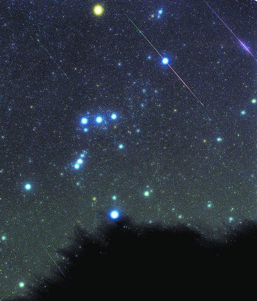 Neben dem Großen Wagen ist Orion das am leichtesten erkennbare Sternbild.AP