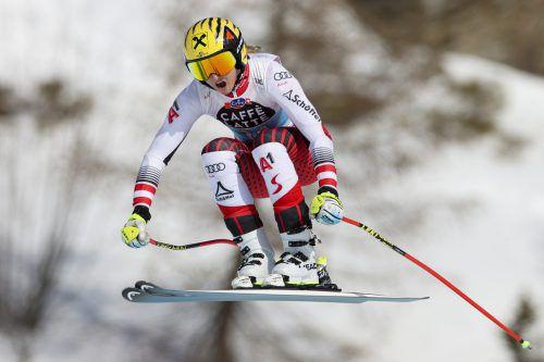 Nina Ortlieb war trotz ihrer starken Leistung nicht ganz zufrieden. ap