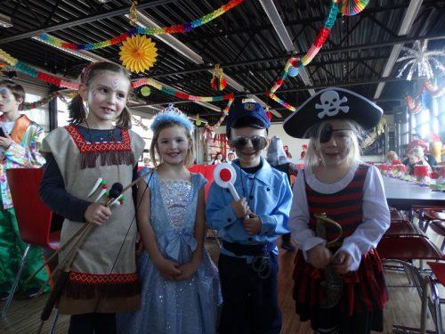 Ob Pirat oder Prinzessin – die Kinder hatten viel Spaß.mima