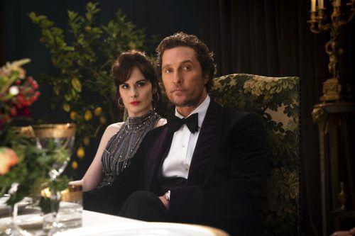 Oscar-Gewinner Matthew McConaughey spielt den amerikanischen Drogenbaron Mickey Pearson. ap