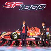 Große Bühne für den neuen Ferrari