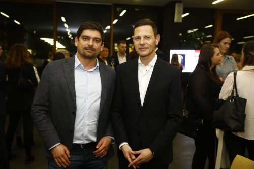 Patrick Fleisch (Key Account) und Marcus Ender (ÖBB).