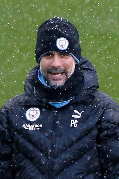 Pep Guardiola und ManCity sind im Gigantenduell bei Real Madrid gefordert.Reuters
