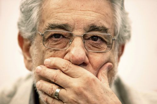 Plácido Domingo hat am Donnerstag seine Auftritte im Opernhaus Teatro Real in Madrid abgesagt. AP