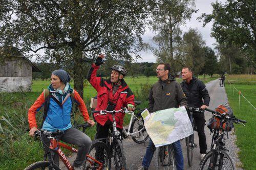 Planung für Radrouten durchs Ried befindet sich in der nächsten Phase. VLK