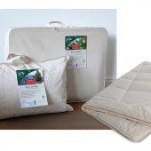 Hefel Textil steckt nachhaltige Bettwaren in Bioverpackung