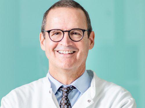 Primar Felix Offner leitet die Pathologie.