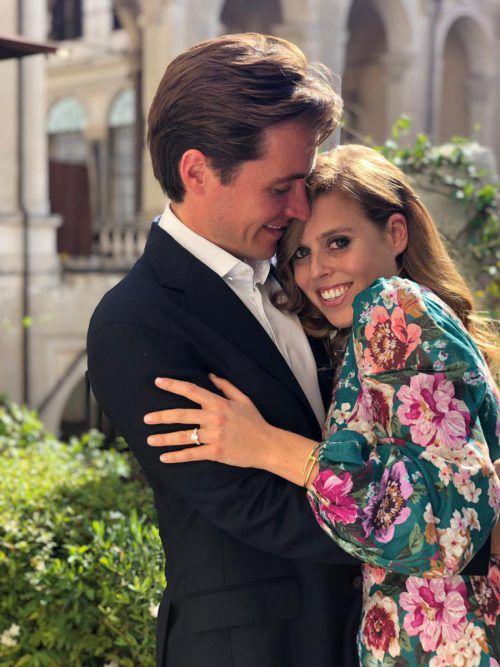 Prinzessin Beatrice heiratet den Immobilienunternehmer Mozzi. AFP