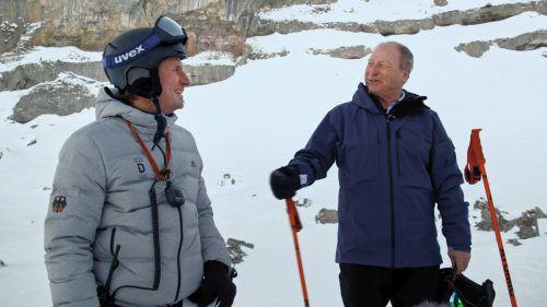Prünster traf den ehemaligen Skirennläufer Markus Eberle. ORF/Degn Film