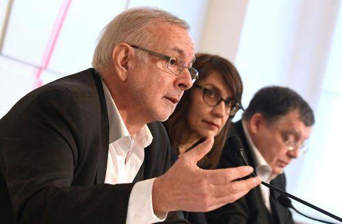 Rathkolb, Reiter und Baumgartner zerpflückten den Bericht. APA