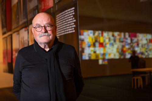 Reinhold Luger verwies erneut auf die Wichtigkeit des Flint-Festivals 1970 und auch dessen Verbot nur ein Jahr später als wichtigen Moment für die Kulturproduzenten.VN/KH