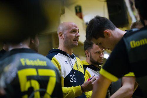 RHC Dornbirn-Coach Jesus Gende und seine Mannschaft bekommen es heute auswärts mit einem großen internationalen Kaliber zu tun.Steurer