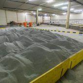 Jetzt wird Rhesi-Halle geflutet