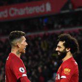 Liverpool kickt weiterin einer eigenen Liga