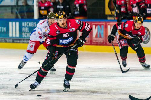 Robin Soudek ermöglichte mit zwei Toren der VEU den Sieg in Fassa.Stiplovsek