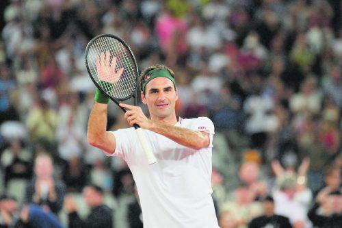 Roger Federer ist vor den French Open nur bei drei Turnieren . apa