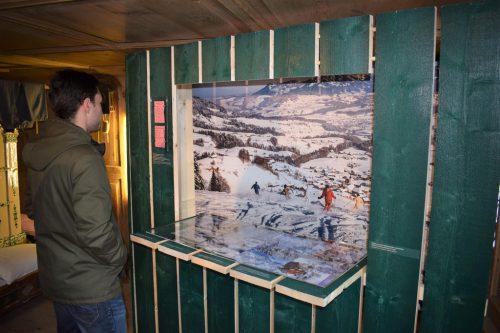 Rundgang durch die neue Ausstellung in Schwarzenberg.