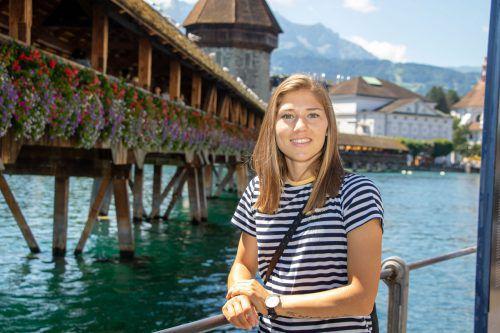 Sarah Klotz will sich beim FC Luzern einen Stammplatz sichern.hepberger