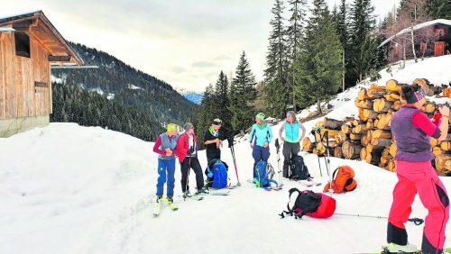 Schitourentage im Navistal - 31. Jänner bis 2. Februar.Alpenverein Bludenz