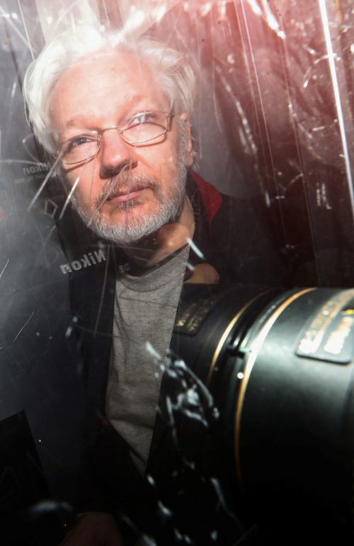 Seit April sitzt Assange im Hochsicherheitsgefängnis Belmarsh im Osten Londons. reuters