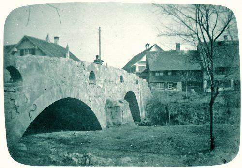 So sah das Zentrum der Rheindeltagemeinde einmal aus.