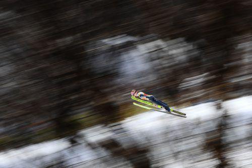 Stefan Kraft segelte in Sapporo auf den ersten Rang und setzte damit seine gute Serie seit dem Ende der Vierschanzentournee fort.AFP