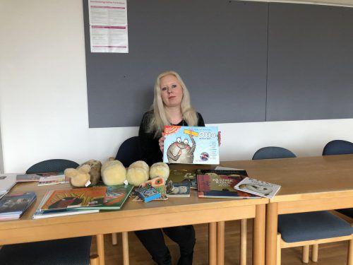Stefanie Geffers gab an der Pädagogischen Hochschule Vorarlberg neben anderen ReferentInnen wertvolle Einblicke in die Lesepädagogik. VN/Hämmerle