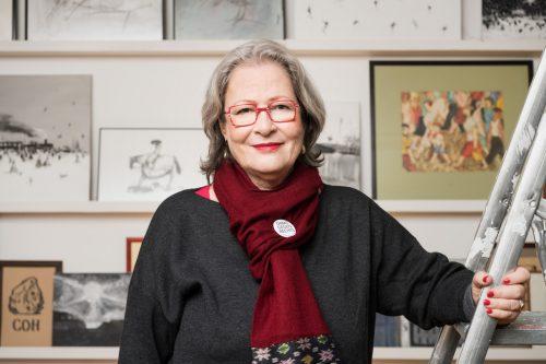 Susanne Scholl fühlt sich mit 70 Jahren noch topfit. Katharina Gossow