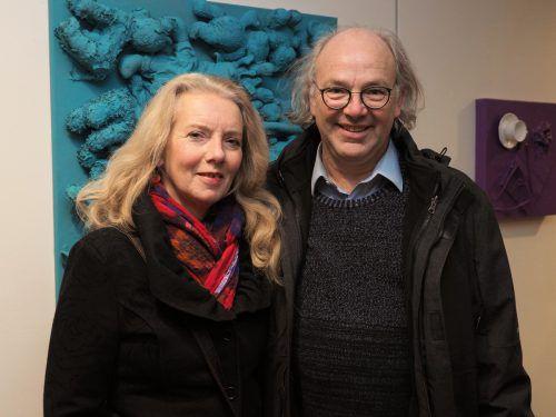 Unter den Besuchern Pfarrer Michael Meyer mit Sylvie Meyer-Wagerl.