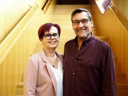 Unter den Konzertbesuchern: Karin und Walter Samonig.