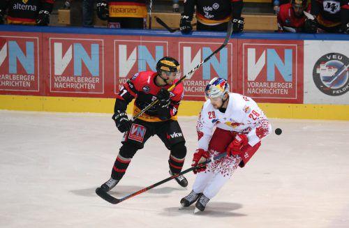 VEU-Stürmer Niklas Gehringer traf in den letzten zwei Spielen drei Mal. KHa