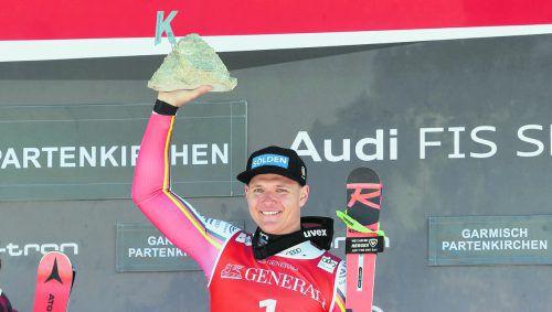 Vierter Weltcupsieg für Thomas Dreßen, es ist der erste deutsche Abfahrtssieg in Garmisch seit Markus Wasmeier 1992.apa