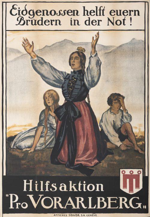 Von diesem Plakat gibt es nur wenige Exemplare. Vorarlberger Privatsammlung, Foto: Jana Sabo