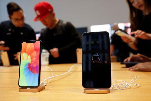 Wenn Apples iphone schwächelt, kann das auch vom Hersteller gewollt sein.Reuters