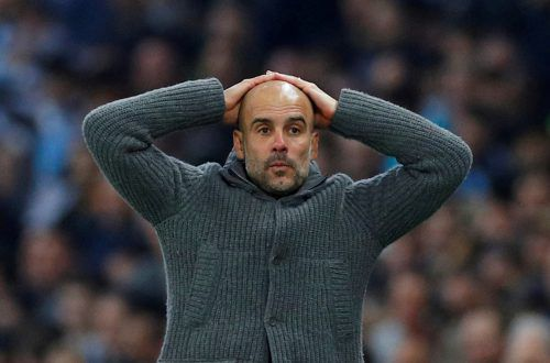 Wie reagiert City-Trainer Pep Guardiola auf die Europacupsperre?Reuters