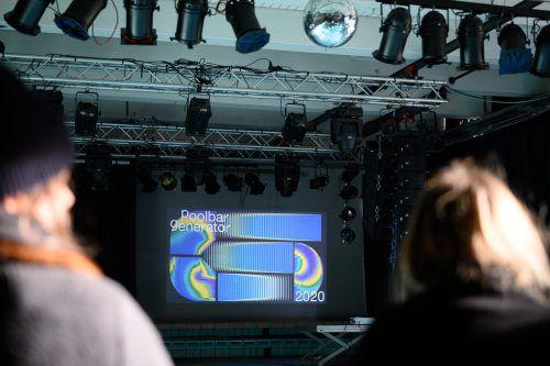Wie wird das poolbar-Festival 2020 wohl aussehen? In den Designlabors wird noch diese Woche die gestalterische Basis für den Festivalsommer gelegt.poolbar/MATTHIAS RHOMBERG