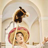 Don Quijote reitet für Schüler