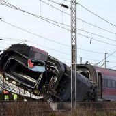 Zug bei 290 Stundenkilometern in Italien entgleist