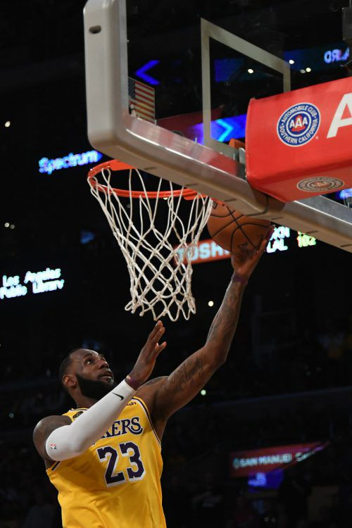 29 Punkte von LeBron James reichten den Lakers gegen Brooklyn nicht zum Sieg.ap