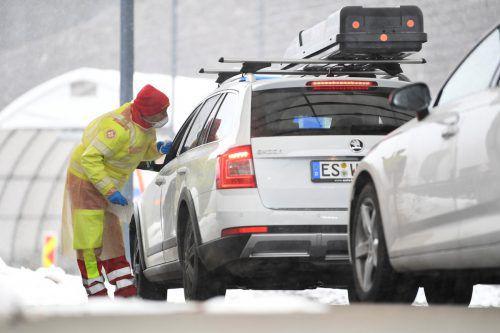 Ab Dienstagvormittag begannen an der Brenner-Grenze Gesundheitschecks.