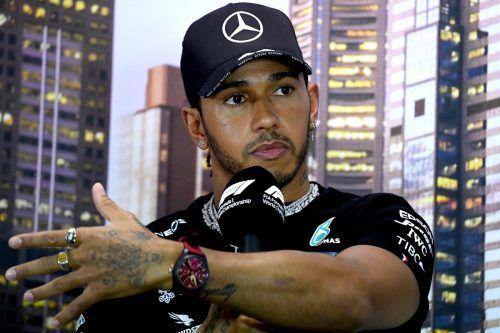 Aktuell heißt es Stillstand statt Vollgas für Lewis Hamilton und Kollegen.AFP
