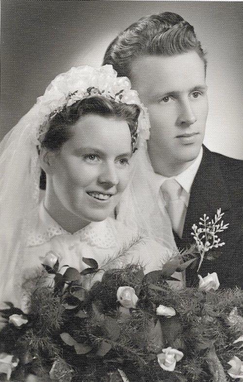 Am 5. März 1955 gaben sich Elfi und Klaus Thaler da Jawort.