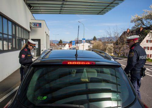 Am Montag wurde in Vorarlberg noch sporadisch kontrolliert.