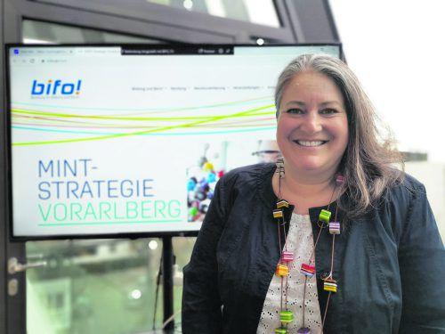 Andrea Huber wird Förderung von MINT-Themen vorantreiben.
