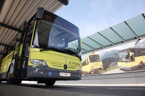 Angesichts der aktuellen Lage wurde der Landbus Montafon früher als vorgesehen auf den Nebensaisonstakt umgestellt.meznar.media