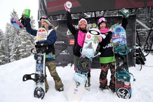 Anna Gasser siegte beim Big Air-Event bei den X-Games in Norwegen. apa