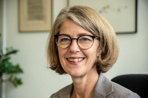 Annamaria Ferchl-Blum, Schulamtsleiterin.