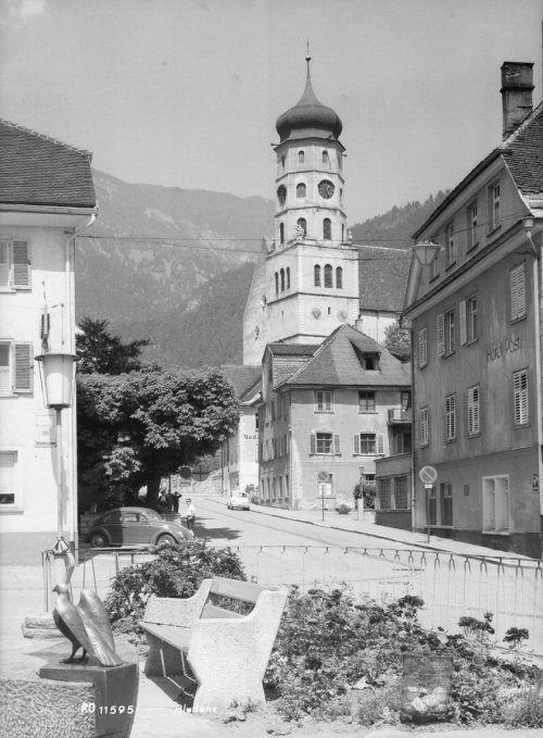 Auch das Hotel Herzog Friedrich stand nicht immer da.