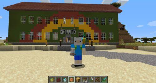 """Auch die Villa K gibt es bereits in digitaler Form - hier nachgebaut im legendären Game-Klassiker """"Minecraft""""."""